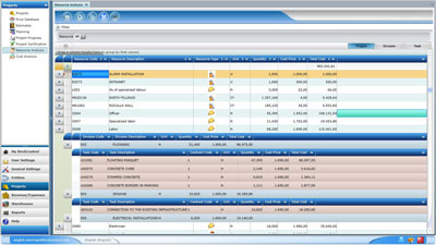 BrickControl calculates the resources that are necessary to execute your tasks and construction projects